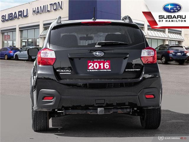2016 Subaru Crosstrek Touring Package (Stk: U1450) in Hamilton - Image 5 of 27