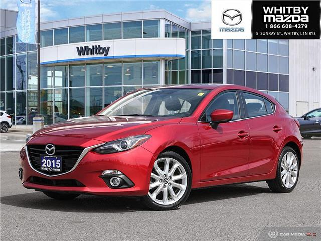 2015 Mazda Mazda3 Sport GT (Stk: P17445) in Whitby - Image 1 of 27