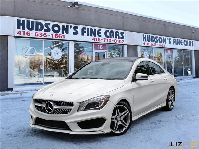 2014 Mercedes-Benz CLA-Class Base (Stk: ) in Toronto - Image 1 of 30