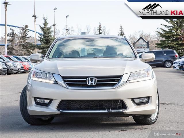 2014 Honda Accord Touring V6 (Stk: P0215A) in Calgary - Image 2 of 27
