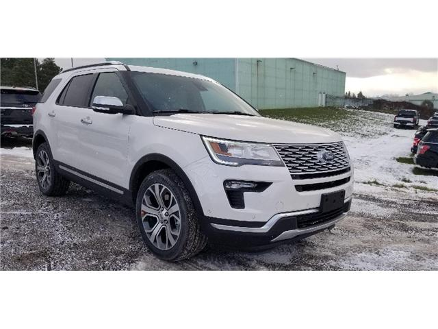 2019 Ford Explorer Platinum (Stk: 19ER0278) in Unionville - Image 1 of 13