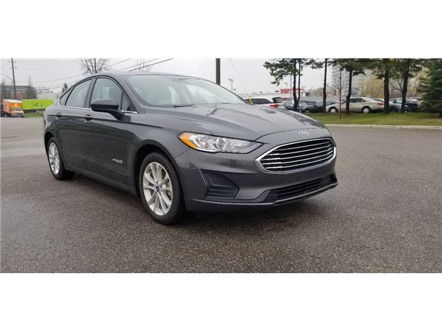 2019 Ford Fusion Hybrid SE (Stk: P8594) in Unionville - Image 1 of 20
