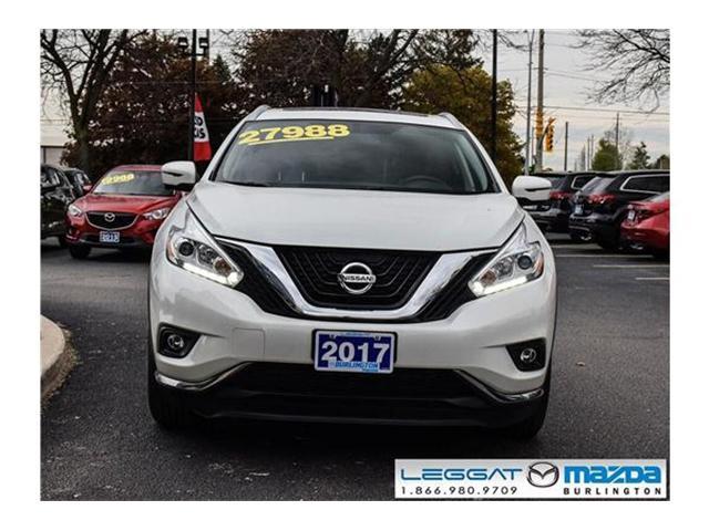 2017 Nissan Murano  (Stk: 1893) in Burlington - Image 2 of 21