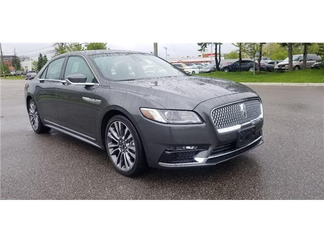 2017 Lincoln Continental Reserve (Stk: 53100) in Unionville - Image 1 of 24