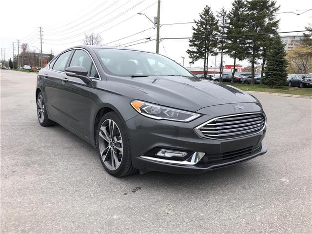 2018 Ford Fusion Titanium (Stk: P8600) in Unionville - Image 1 of 17
