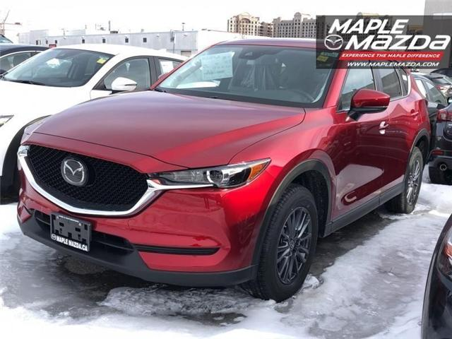 2019 Mazda CX-5 GS (Stk: 19-125) in Vaughan - Image 1 of 5