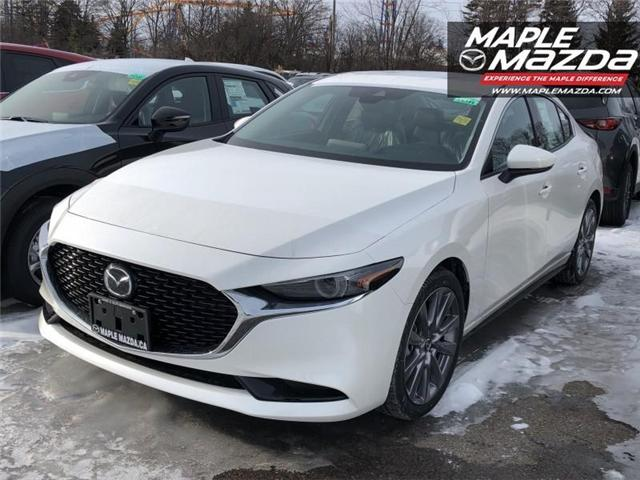 2019 Mazda Mazda3 GT (Stk: 19-142) in Vaughan - Image 1 of 5