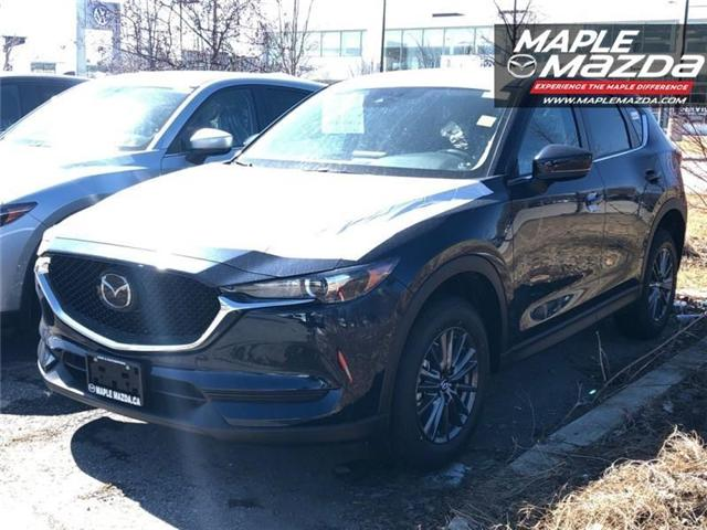 2019 Mazda CX-5 GS (Stk: 19-163) in Vaughan - Image 1 of 5