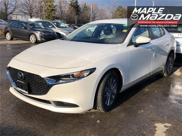 2019 Mazda Mazda3 GS (Stk: 19-183) in Vaughan - Image 1 of 5