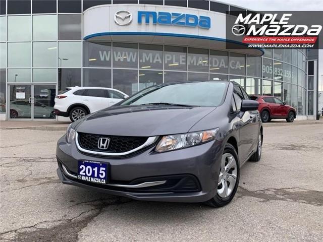 2015 Honda Civic EX (Stk: 19-229A) in Vaughan - Image 1 of 24