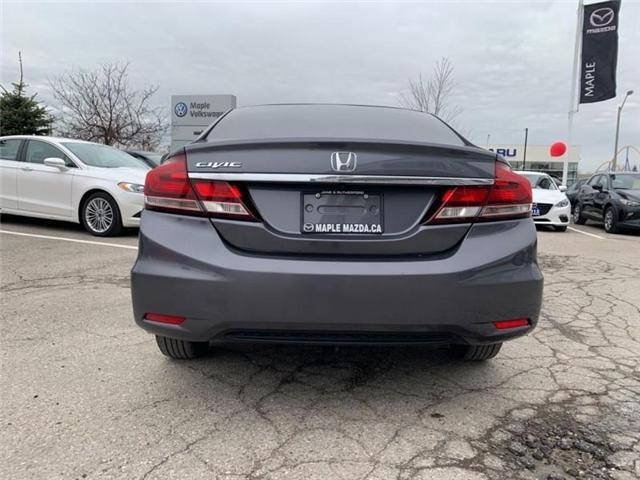 2015 Honda Civic EX (Stk: 19-229A) in Vaughan - Image 6 of 24