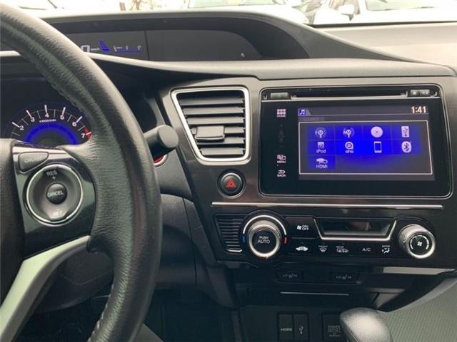 2015 Honda Civic EX (Stk: 19-229A) in Vaughan - Image 14 of 24