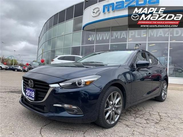 2018 Mazda Mazda3 GT (Stk: P-1162) in Vaughan - Image 1 of 6