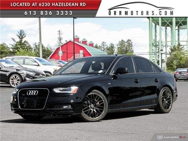 2015 Audi A4 2.0T Komfort plus (Stk: 5798) in Stittsville - Image 1 of 27