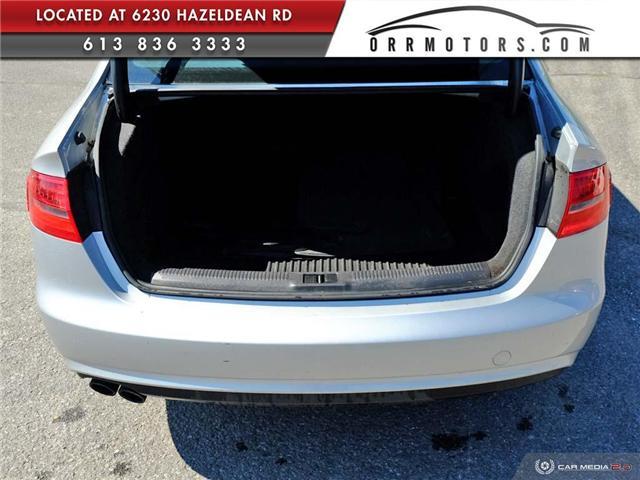 2014 Audi A4 2.0 Komfort (Stk: 5781) in Stittsville - Image 10 of 27