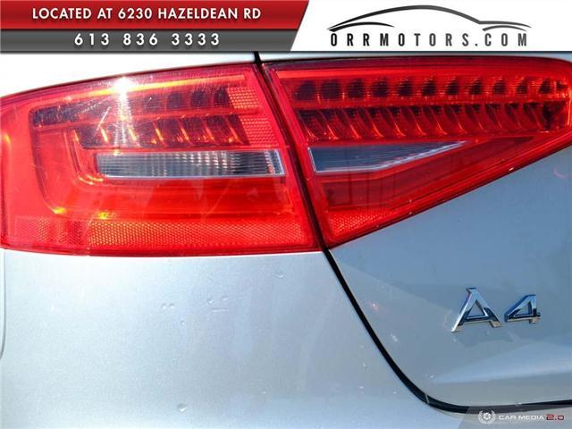 2014 Audi A4 2.0 Komfort (Stk: 5781) in Stittsville - Image 11 of 27