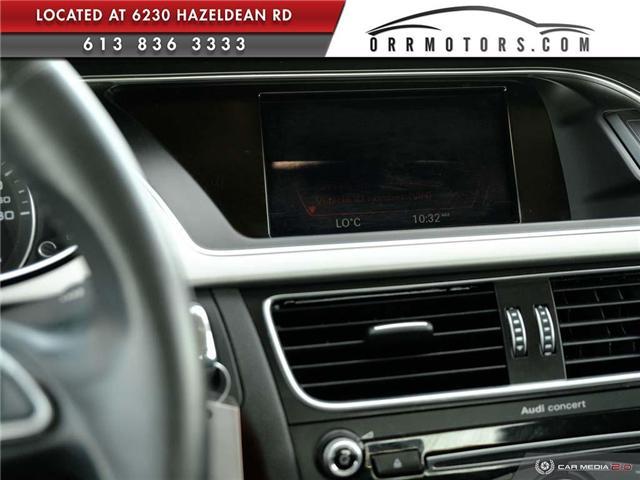 2014 Audi A4 2.0 Komfort (Stk: 5781) in Stittsville - Image 20 of 27