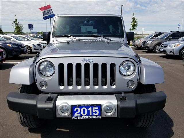 2015 Jeep Wrangler Unlimited Sahara (Stk: 19SB512A) in Innisfil - Image 2 of 21