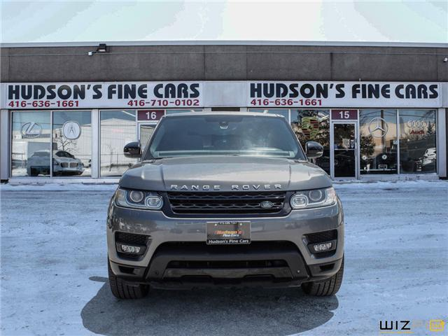 2015 Land Rover Range Rover Sport V8 Supercharged (Stk: 14620) in Toronto - Image 2 of 30