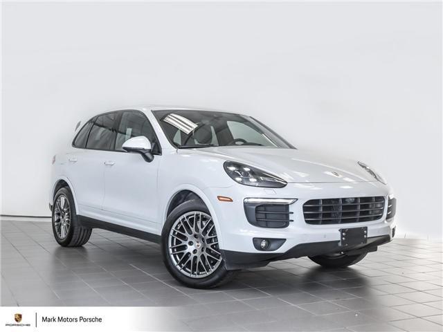 2018 Porsche Cayenne Platinum Edition (Stk: 62307) in Ottawa - Image 1 of 28
