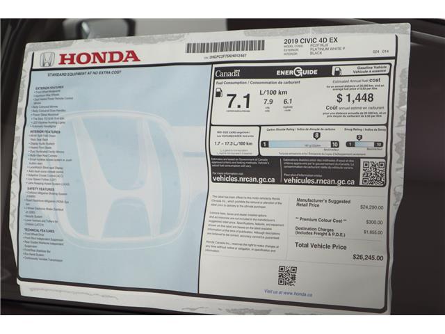 2019 Honda Civic EX (Stk: 219497) in Huntsville - Image 11 of 34