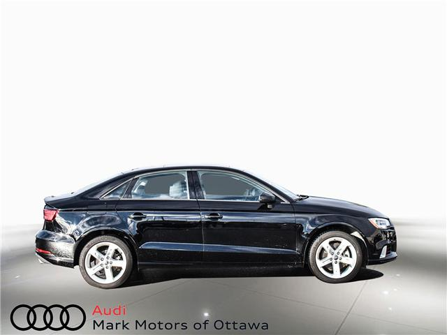 2018 Audi A3 2.0T Komfort (Stk: PM342) in Nepean - Image 3 of 24