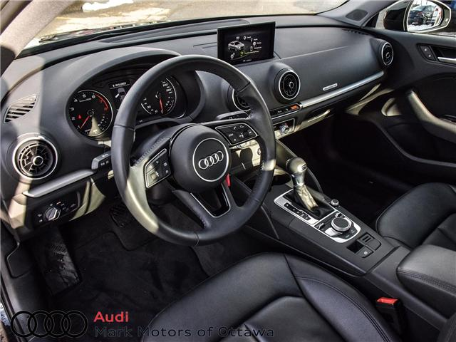 2018 Audi A3 2.0T Komfort (Stk: PM342) in Nepean - Image 9 of 24