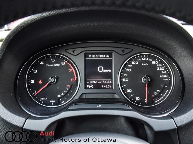 2018 Audi A3 2.0T Komfort (Stk: PM342) in Nepean - Image 19 of 24