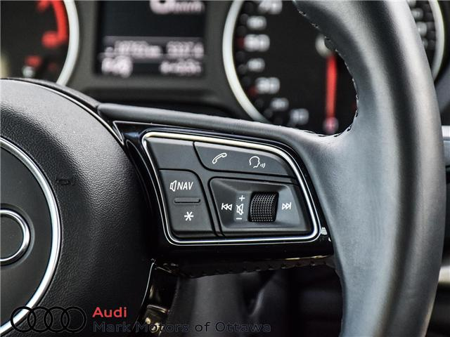 2018 Audi A3 2.0T Komfort (Stk: PM342) in Nepean - Image 22 of 24