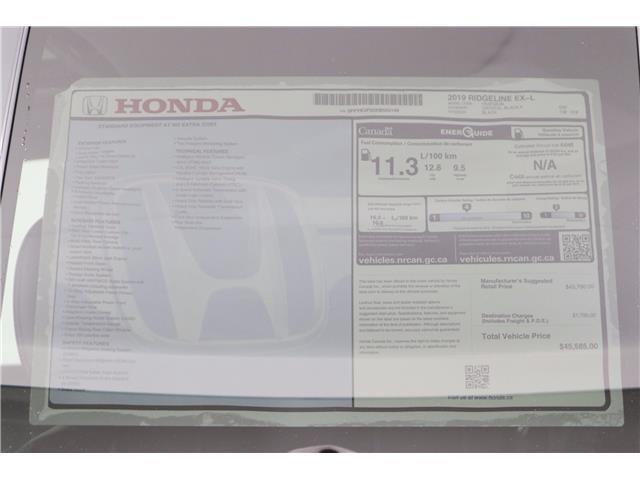 2019 Honda Ridgeline EX-L (Stk: 219510) in Huntsville - Image 17 of 33