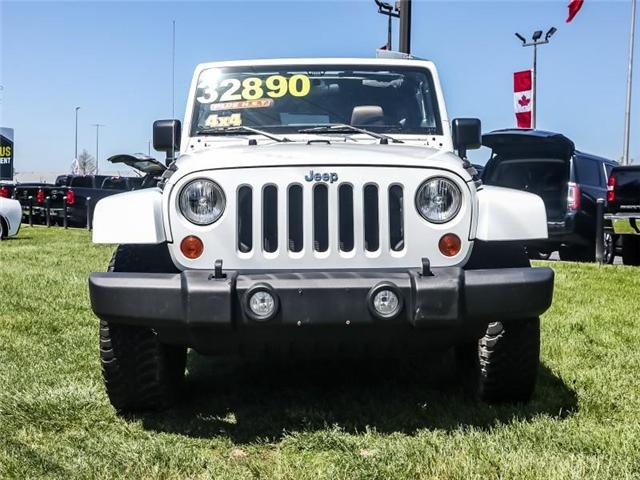 2012 Jeep Wrangler Unlimited Rubicon (Stk: 5741K) in Burlington - Image 2 of 26