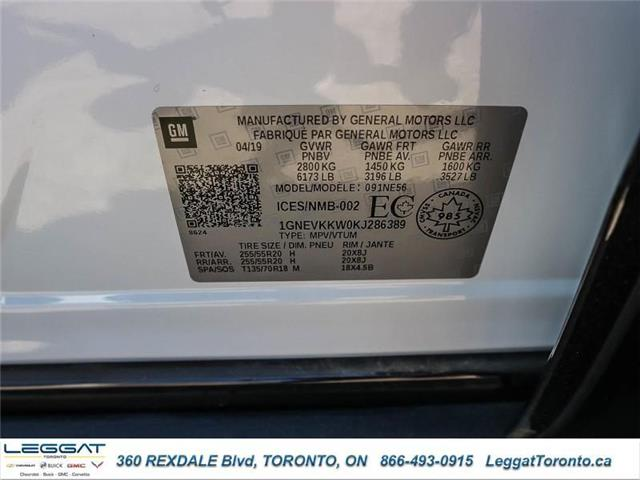 2019 Chevrolet Traverse Premier (Stk: 286389) in Etobicoke - Image 20 of 20