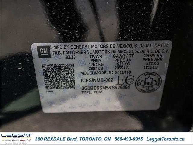 2019 Chevrolet Cruze LT (Stk: 629464) in Etobicoke - Image 19 of 19