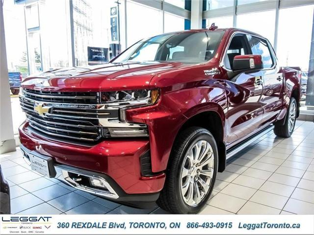 2019 Chevrolet Silverado 1500 High Country (Stk: 305649) in Etobicoke - Image 1 of 12