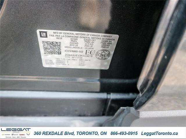 2019 Chevrolet Equinox 1LT (Stk: T11574) in Etobicoke - Image 25 of 27
