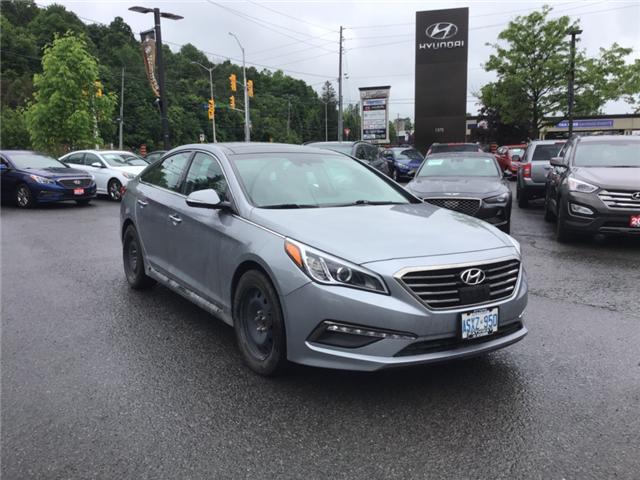 2017 Hyundai Sonata Limited (Stk: SL76855) in Ottawa - Image 1 of 11