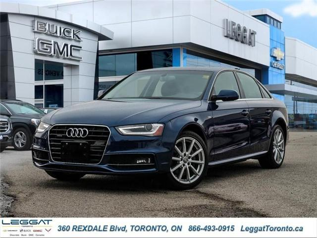 2016 Audi A4 2.0T Progressiv plus (Stk: T11537A) in Etobicoke - Image 1 of 23