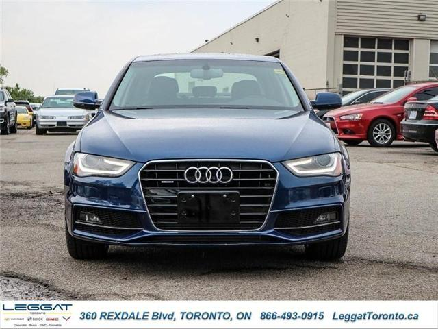 2016 Audi A4 2.0T Progressiv plus (Stk: T11537A) in Etobicoke - Image 2 of 23