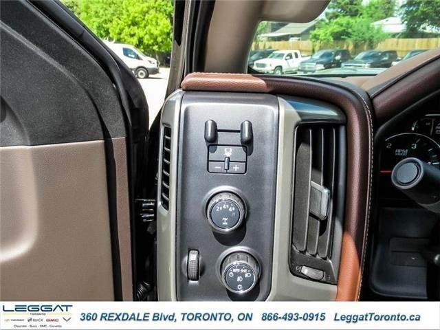 2019 Chevrolet Silverado 3500HD High Country (Stk: 271989) in Etobicoke - Image 18 of 22