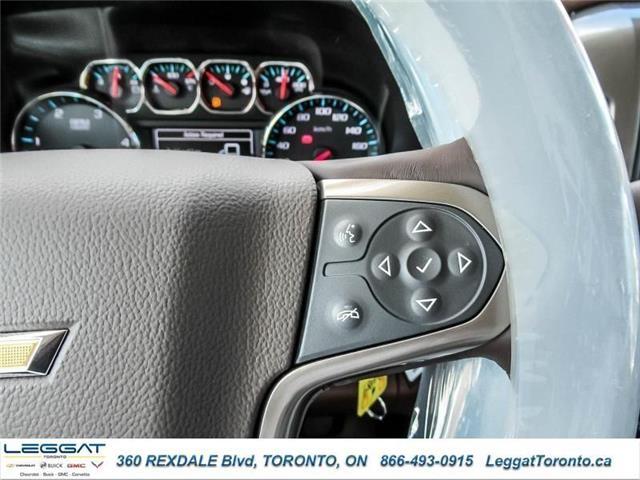 2019 Chevrolet Silverado 3500HD High Country (Stk: 271989) in Etobicoke - Image 21 of 22