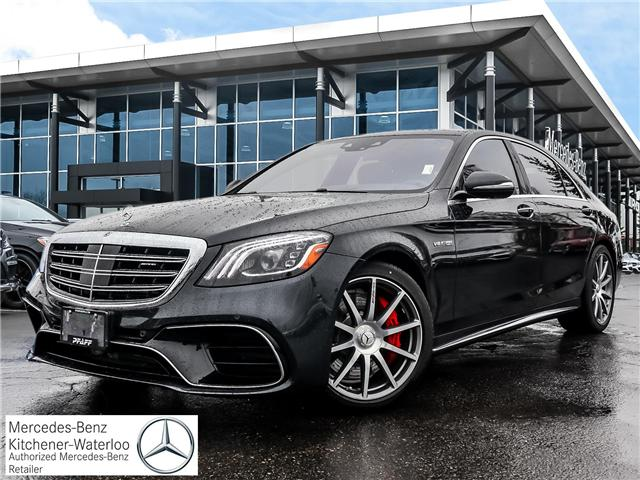 2019 Mercedes-Benz AMG S 63 Base (Stk: 38655) in Kitchener - Image 1 of 17