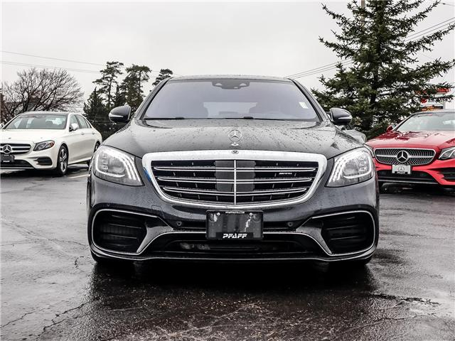 2019 Mercedes-Benz AMG S 63 Base (Stk: 38655) in Kitchener - Image 2 of 17