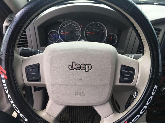 2005 Jeep Grand Cherokee Limited (Stk: 175510) in Medicine Hat - Image 12 of 20