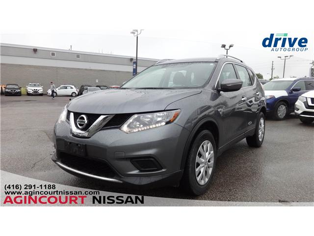2015 Nissan Rogue S (Stk: KC722009A) in Scarborough - Image 1 of 17