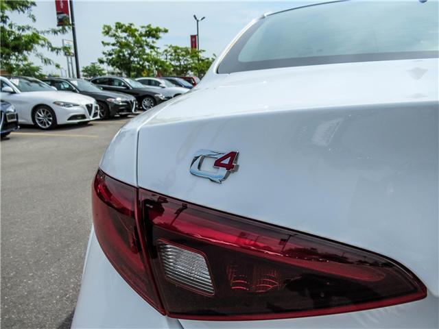 2017 Alfa Romeo Giulia Base (Stk: ALFA284) in Vaughan - Image 17 of 23