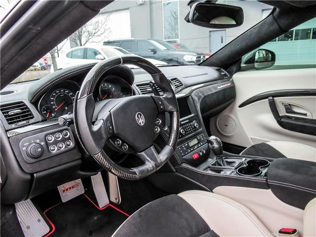 2015 Maserati GranTurismo MC (Stk: U4234) in Vaughan - Image 10 of 23