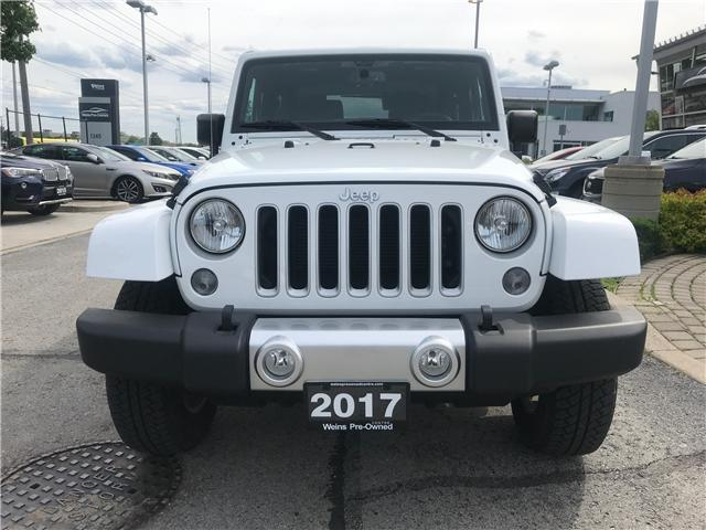 2017 Jeep Wrangler Sahara (Stk: 1712W) in Oakville - Image 2 of 22