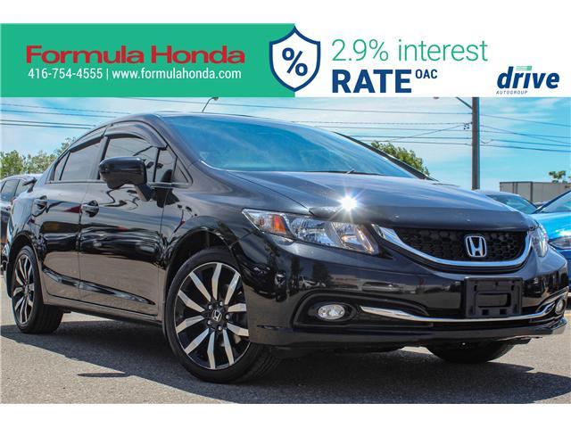 2015 Honda Civic Touring (Stk: B11244) in Scarborough - Image 1 of 32