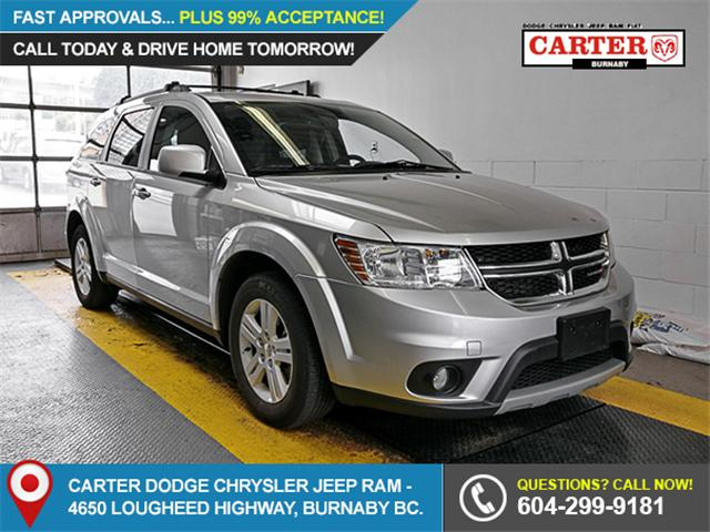 2012 Dodge Journey SXT & Crew (Stk: 9-6111-0) in Burnaby - Image 1 of 23
