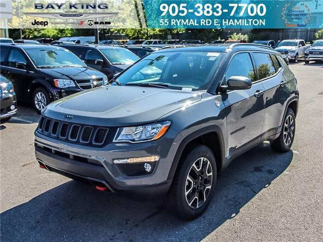 2019 Jeep Compass Trailhawk (Stk: 197625) in Hamilton - Image 1 of 19